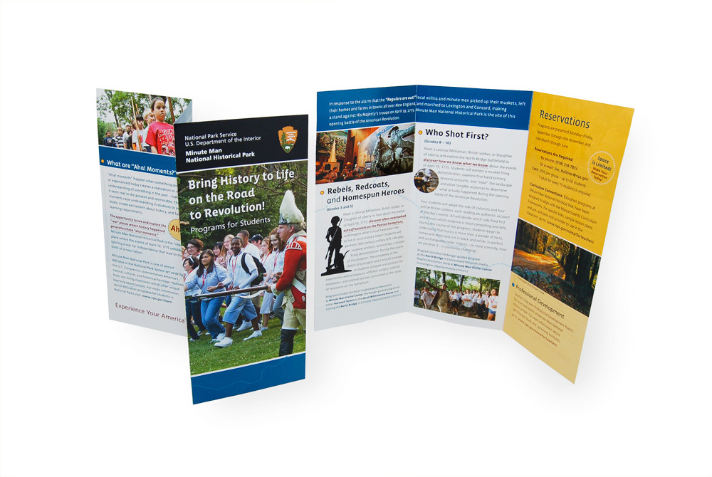 """Bring History to Life"" Education Programs Brochure"