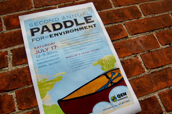 Paddle for the Environment Poster