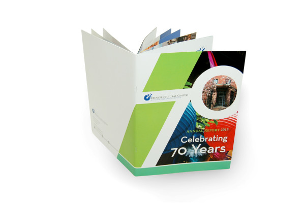 French Cultural Center Annual Report: 70th Anniversary Edition